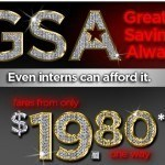 Spirit Airlines GSA Sale Fares From $19.80* Today Only