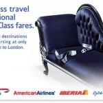 British Airways $2012 Business Class Sale