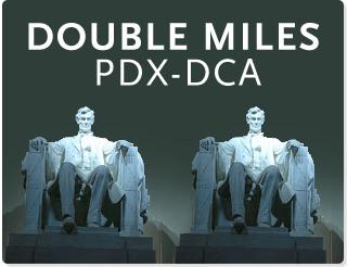 Double Miles – Portland To Washington, D.C.