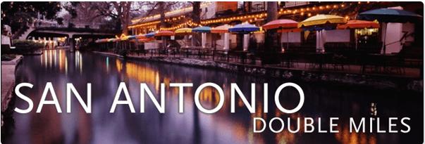 Double Miles – Seattle To San Antonio