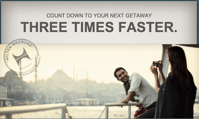Triple your trip, triple points, Hilton, Quarter 3 promotion