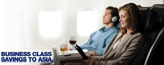 american airlines business class deals to asia