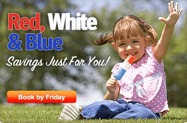 Southwest Red, White & Blue Savings For You Sale