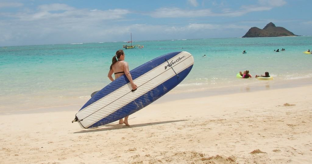 How to stand up paddle board carrying a paddle board