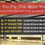 100,000 Bonus Miles