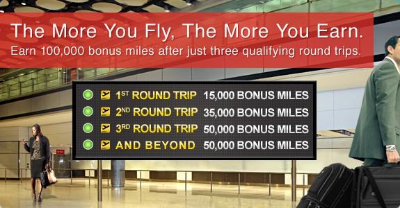1000,000 bonus miles