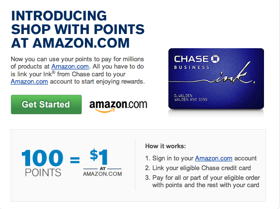 shop with points at amazon, ink bold, chase