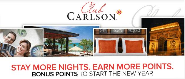 Stay More Nights Earn More Points Radisson Club Carlson