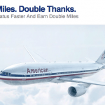 Double Miles On American Airlines