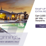 Bonus Beginnings Earn Up to 6,000 Starpoints