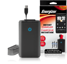 Top 5 Travel Gifts Under $25 Energizer Instant Charger for Micro USB