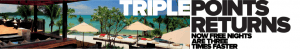 Club Carlson Triple Points Returns
