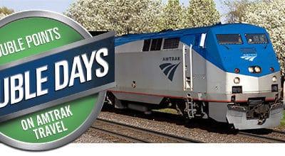 Amtrak Double Days Double Points Promotion