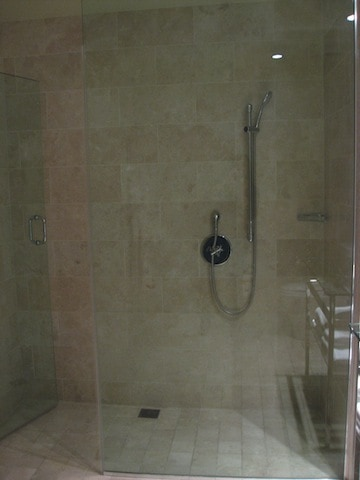 Andaz San Diego Extra Large Loft shower