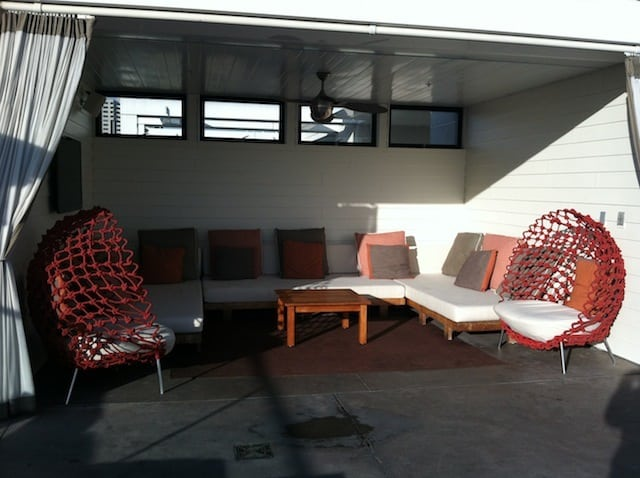 Andaz San Diego Ivy Rooftop pool cabana