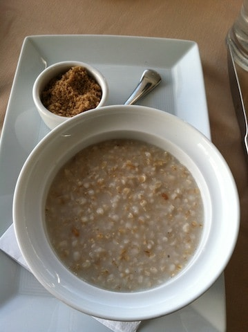 Andaz San Diego oatmeal