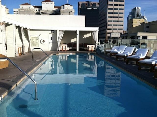 Andaz San Diego rooftop pool