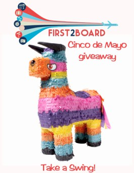 "First2Board Cinco de Mayo ""Take a Swing"" Giveaway"