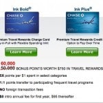 60000 ultimate rewards points, ink bold, ink plus, chase