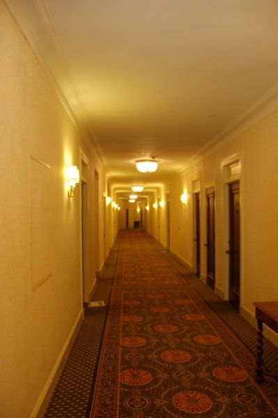 Fairmont Chateau Laurier Hallway, the Shining