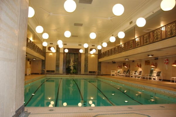 fairmont chateau laurier art deco pool traveling well for less. Black Bedroom Furniture Sets. Home Design Ideas