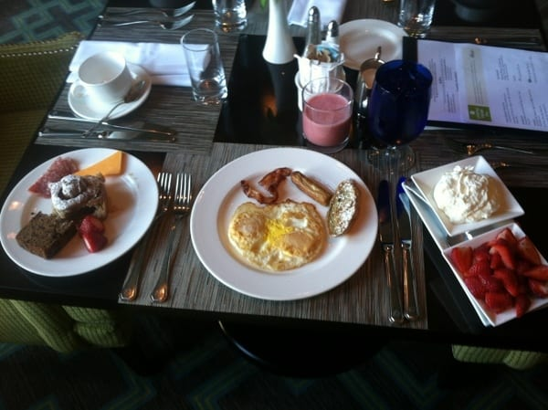 Fairmont Chateau Laurier Breakfast Buffet Day 2