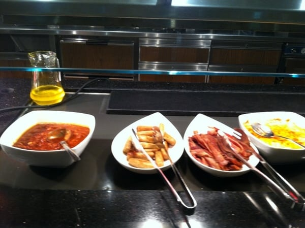Fairmont Chateau Laurier Breakfast Buffet Hot Meats and Eggs