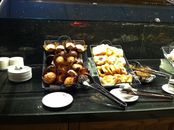 Fairmont Chateau Laurier Breakfast Buffet Pastries