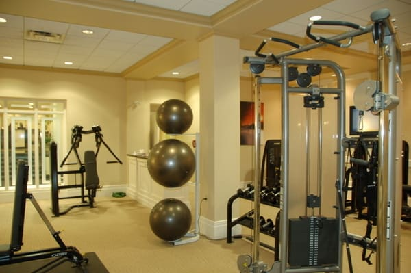 Fairmont Chateau Laurier Health Club Equipment