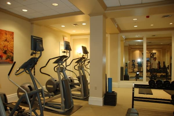 Fairmont Chateau Laurier Health Club Treadmills