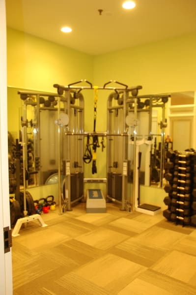 Fairmont Chateau Laurier Personal Training Room