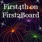 It's A First2Board 4 Star* First4th Giveaway
