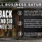 Free money on Small Business Saturday Traveling Well For Less