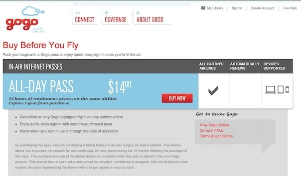 GoGo All-Day Pass Giveaway Traveling Well For Less