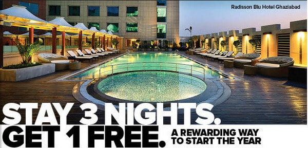 Stay 3 Nights, Get 1 Free Club Carlson Promotion Traveling Well For Less