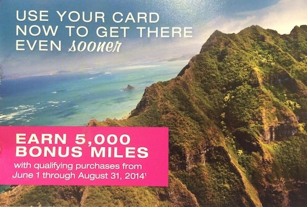 5,000 Bonus Hawaiian Airlines Miles (Targeted) Traveling Well For Less