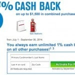 Active 5X Cash Back on Gas and Kohl's on Chase Freedom