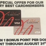 Up to 2,000 Club Carlson Bonus Points (Targeted)