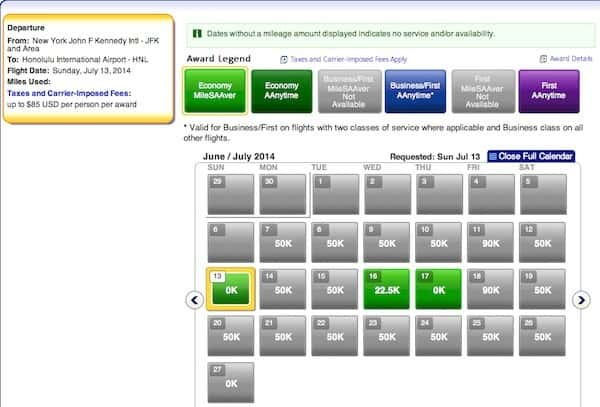Using American Airlines Miles to Hawaii This Summer New York to Honolulu coach Traveling Well For Less