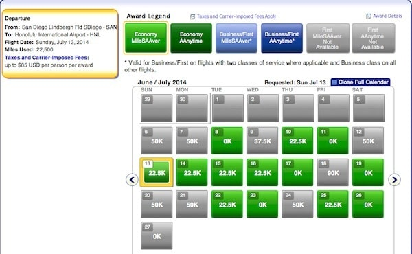 Using American Airlines Miles to Hawaii This Summer San Diego to Honolulu Coach Traveling Well For Less