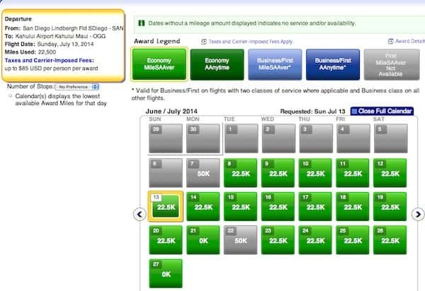 Using American Airlines Miles to Hawaii This Summer San Diego to Maui coach Traveling Well For Less