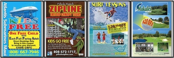Tricks to Save Money on Vacation Activities free coupon books visitor guides Traveling Well For Less