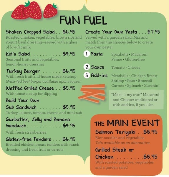 Tricks to Saving Money on Vacation meals kids menu Traveling Well For Less