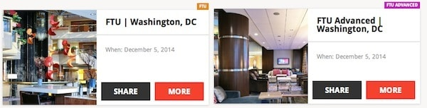 2 Frequent Traveler University (FTU) Programs Now Offered FTU Washington DC Traveling Well For Less