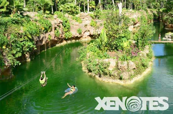 Fire cenote Kaak Xenote Oasis Maya Traveling Well For Less