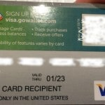 Using gift cards on Paypal Traveling Well For Less