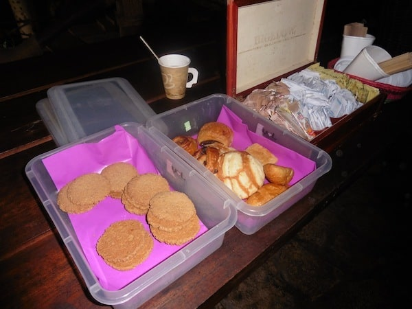 cookies, pastries and sweet breads at Xenotes Oasis Maya Traveling Well For Less