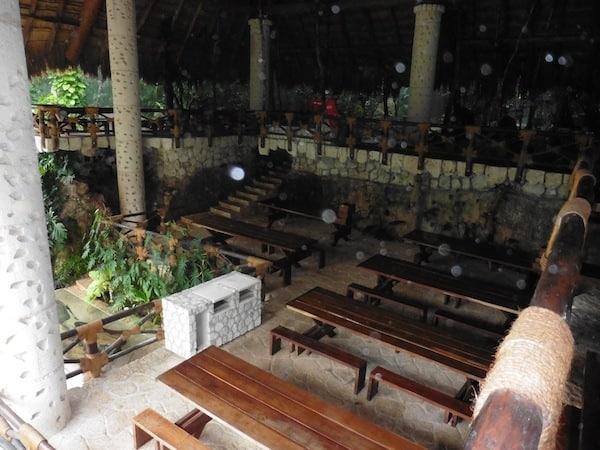 No lockers at Xenotes Oasis Maya Traveling Well For Less