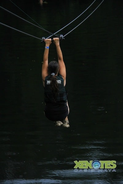 Lik Xenotes Oasis Maya zip lining Traveling Well For Less