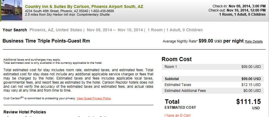 Cheap hotel to earn 3x Club Carlson points Traveling Well For Less